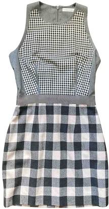 Richard Nicoll Grey Cashmere Dress for Women