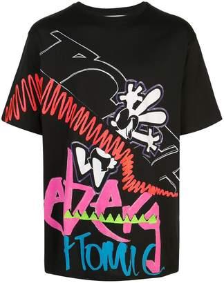Iceberg graffiti print T-shirt