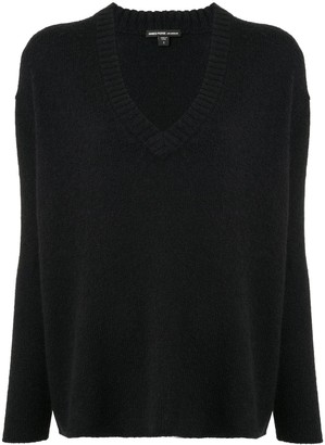James Perse Loose-Fit V-Neck Jumper