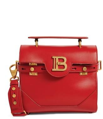 Balmain Leather B-Buzz 23 Shoulder Bag