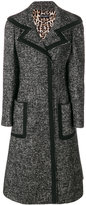 Dolce & Gabbana wide lapel fitted coat
