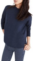 Madewell Women's Mock Neck Boxy Pullover