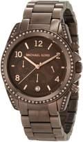 Michael Kors Women's MK5493 Blair Espresso Watch