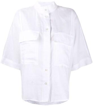 Frame Relaxed Linen Shirt