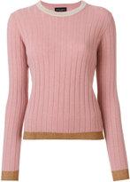 Roberto Collina ribbed sweater - women - Nylon/Polyester/Acetate/Wool - M