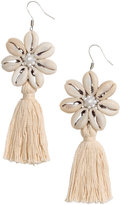 H&M Earrings with Shells - Natural white - Ladies
