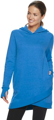 Tek Gear Women's Tulip Hem Hooded Tunic