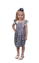 Bonnie Jean Emborderied Chambray Dress
