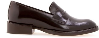 Sarah Chofakian Edward block heel loafers