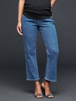 Gap AUTHENTIC 1969 demi panel crop kick jeans