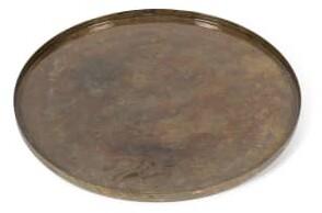 Dekocandle - Metal Patina Enamel Platter