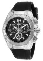 Technomarine Tm-115051 Women's Cruise Star Chrono Silicone And Dial Ss Case Watch