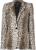 Barbara Bui leopard print blazer
