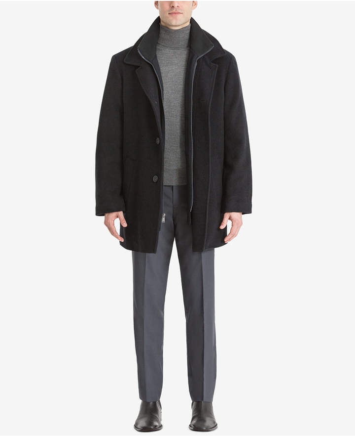 Calvin Klein Men's Big & Tall Coleman Overcoat