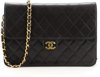 Chanel Clutch with Chain Quilted Leather Medium