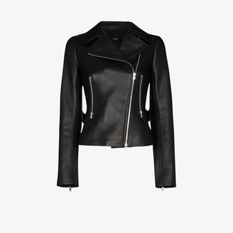 Alaia Leather Biker Jacket