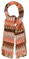 Missoni Patterned Open Knit Scarf