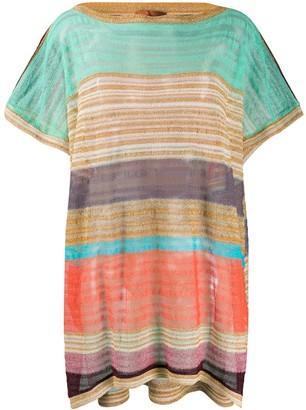 Missoni Mare Striped Loose-Fit Top