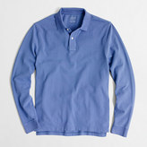 J.Crew Factory Long-sleeve piqué polo shirt