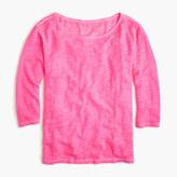 J.Crew Linen cool-dye boatneck T-shirt