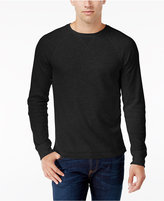 Club Room Men's Waffle-Knit Thermal Shirt, Only at Macy's