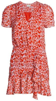 Tanya Taylor Zora Floral Mini Dress