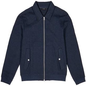 J. Lindeberg Jacob navy cotton-jersey bomber jacket