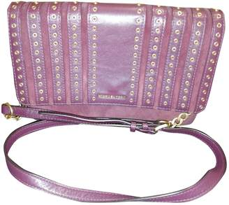 Michael Kors Purple Suede Handbags