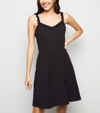 New Look Frill Trim Mini Dress