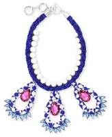 Forest of Chintz Blue Masai Necklace
