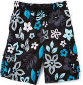 Kanu Surf Black Revival Floral Boardshorts - Toddler & Boys