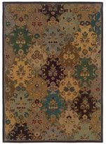 Linon Trio Traditional Ivory/ Multi Area Rug (8' x 10')