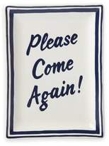 """Kate Spade All in Good TasteTM Order's Up """"Please Come Again!"""" Small Tray"""