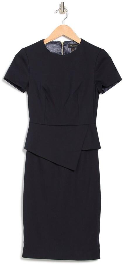 Ted Baker Elynah Short Sleeve Peplum Dress