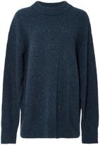 Tibi Mélange Wool Sweater