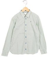 Marie Chantal Boys' Gingham Button-Up Shirt