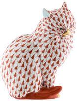 Herend Cat Figurine