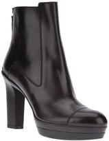 Santoni platform ankle boot