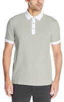 Nautica Men's Slim Fit Contrast Polo Shirt