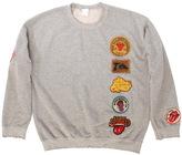 MadeWorn Rolling Stones 1978 Patch Crew Fleece Sweatshirt