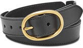 Fossil Leather Links Belt
