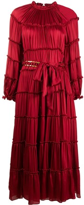 Zimmermann Belted Waist Dress