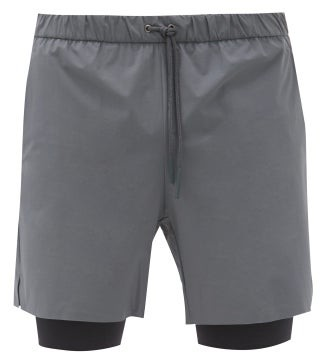 Jacques - Compression 01 Technical Shorts - Grey Multi