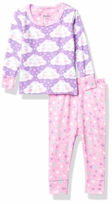 Hatley Baby Girls' Mini Organic Cotton Long Sleeve Pyjama Sets Pajama