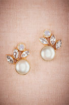 BHLDN Luna Pearl Post Earrings