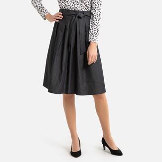 Anne Weyburn Light Denim Full Skirt