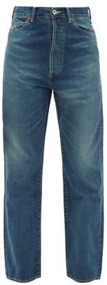 Chimala High-rise Selvedge-denim Straight-leg Jeans - Womens - Denim