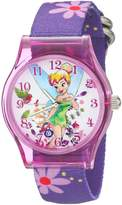 Disney Kids' W001968 Tinker Bell Analog Display Analog Quartz Watch