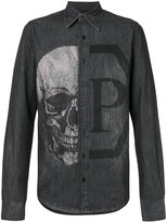 Philipp Plein Andrea denim shirt - men - Cotton - S