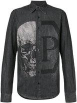 Philipp Plein Andrea denim shirt